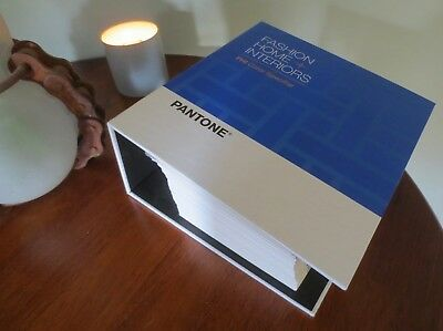 * Pantone * Fashion, Home & Interior *  Fh1 Color Specifier Chips Book *