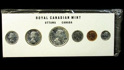 1960 Canada Proof Like Mint Set - Sealed in Original RCM Packaging - KM#PL11