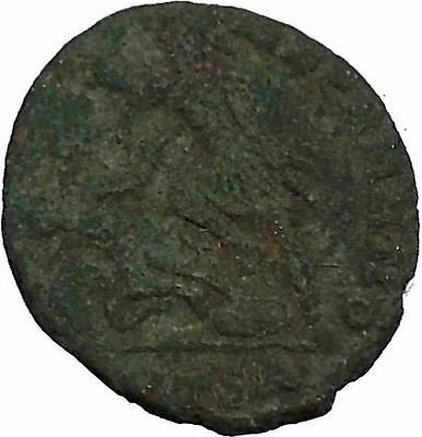 CONSTANTIUS II Constantine the Great son Ancient Roman Coin Battle Horse i44837