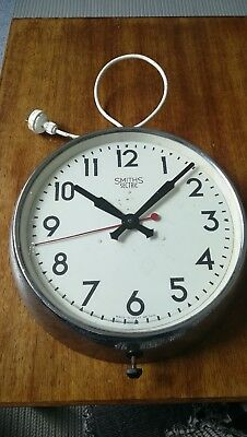 Vintage Smiths Sectric Electric Clock Working but used condition