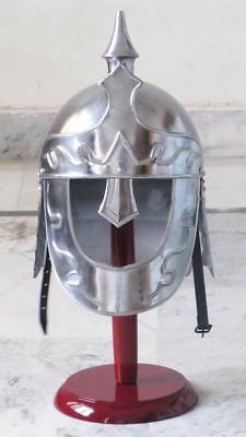 Medieval Roman Greek Ancient King Warrior Armor Night Helmet Fancy Dress Play