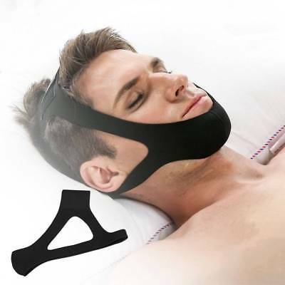 Professional Anti Snore Sleep Solution Snoring Stopper Support Strap Chin Belt