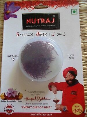 1g Pure High Quality Kashmiri Saffron Threads ISO-Catagory-1 tested