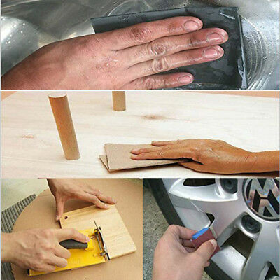 Wet And Dry Sandpaper Abrasive Sanding Paper Sheets 150-7000 Repair Scratches