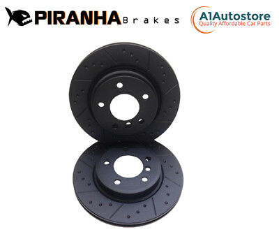 BMW F10 525d 02/10-12/11 Front Brake Discs 348mm 30mm thickness Piranha