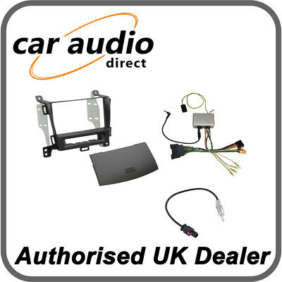 Connects2 CTKVX20 Vauxhall Zafira Tourer 2012> Black Double DIN Radio Kit