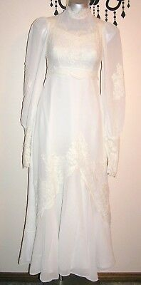 Vintage Stunning Bohemian Wedding Dress Size 8