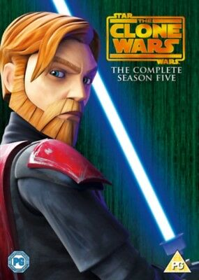 NEW Star Wars The Clone Wars Season 5 DVD