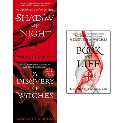 Deborah Harkness All Souls Series Collection 3 Books Set A Discovery of Witches