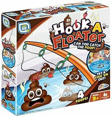 Fishing For Floater Hook A Duck Poo Kids Prank Novelty Bath Game Toy Gift