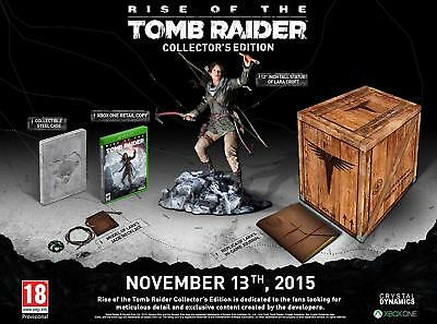 Rise of the Tomb Raider Collectors Edition - Xbox One Spiel - NEU OVP