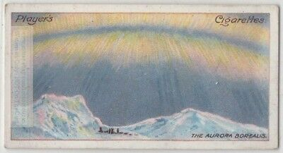 Northern Lights  Arctic Auroras Solar Borealis Astronomy  c100 Y/O Trade Card
