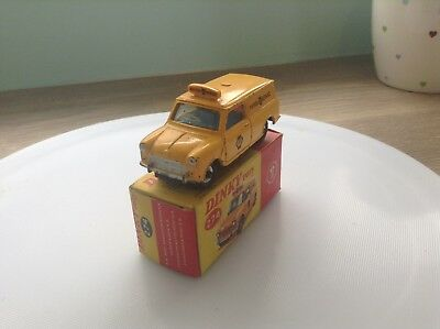 Dinky Toys 274 AA mini van, for restoration  but with complete original box