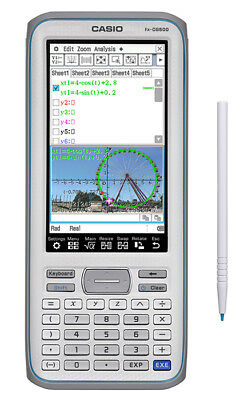 Fx-Cg500 Prizm Cas Casio Color Graphing Calculator New From Manufacturer