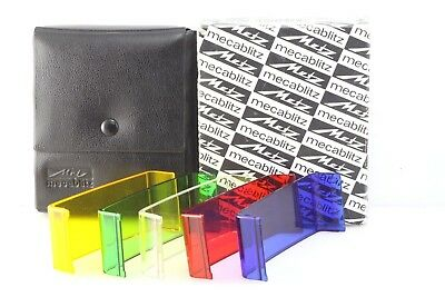 Metz 45 Coloured Filter Kit With Case and Box for Metz 45 Series Flash units
