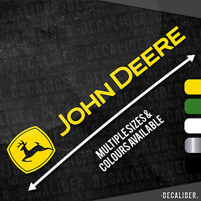 Long John Deere with Deere Badge / Emblem / Sticker / Decal for Tractor / Car