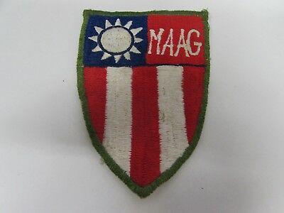 WWII US Army CBI MAAG foreign made patch.