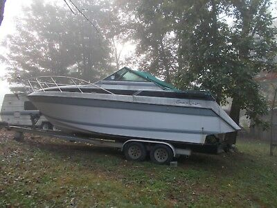 1988 Chris Craft Amerosport 262 26' Cabin Cruiser & Trailer - West Virginia
