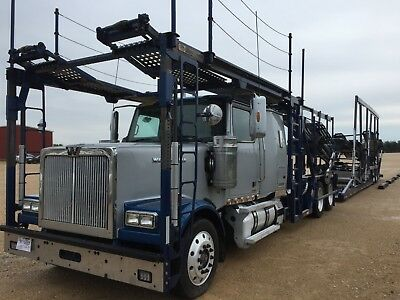 2015 Western Star 4900SF Car Carrier Truck