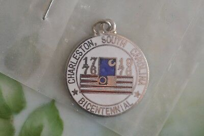 Vintage Charleston, South Carolina Bicentennial enamel Charm New