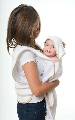 Pouchi Baby Apron Towel - gift packaged 100% super soft unbleached cotton