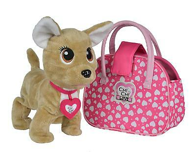 Simba Chi Chi Love Happy mit Tasche Chihuahua Kinder Spielzeug Hunde Haustier