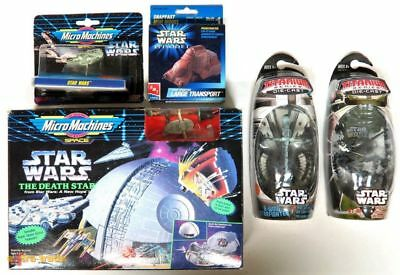 HASBRO/ERTL/IDEAL/GALOOB STAR WARS 5x VERSCHIEDENE FIGUREN; OVP - 11AWG172
