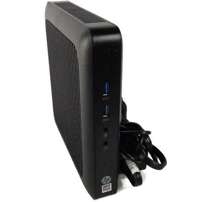 HP Thin Client T520 Dual Core GX-212JC 1.2GHz - 4GB - 16GB SSD w/ AC Adapter