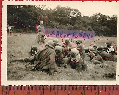 photo orig all STONNE PRISONNIERS COLONIAUX ARDENNES  FRANCE 1940 ww2 O33