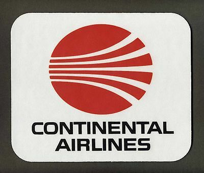"""CONTINENTAL AIRLINES  Mouse Pad   """"FREE SHIPPING"""""""