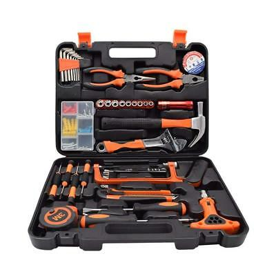 Renogy 46 Pieces Tool Set Box Kit General Household Hand Combination Package...