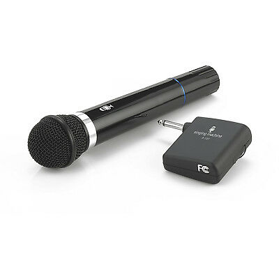 Singing Machine SMM-107 Wireless Karaoke Microphone with VHF Receiver