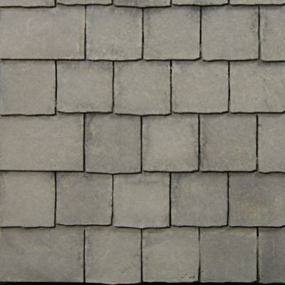 Rustic Dolls House Roof Tiles / Slate Strips x12