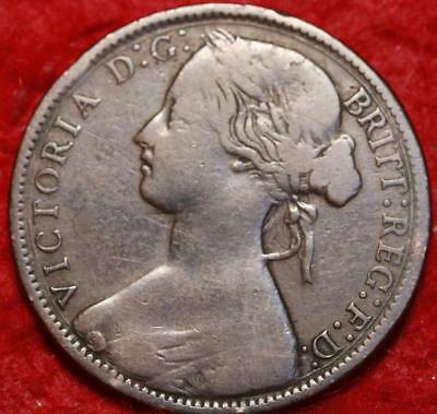 1874 Great Britain One Penny Foreign Coin