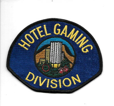 Hotel Gaming Division,  Reno, Nevada casino security patch