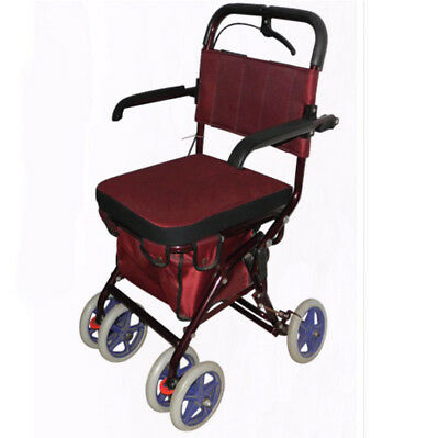 A187 Rugged Aluminium Luggage Trolley Hand Truck Folding Foldable Shopping Cart