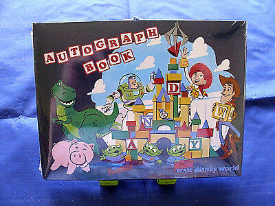 Disney * WDW - TOY STORY LAND - Official Small Autograph Book * New & Sealed