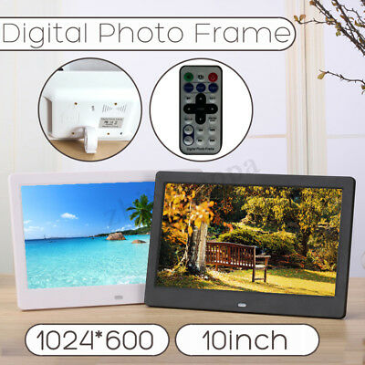 "10"" HD LCD Digital Photo Frame Album Picture MP4 Movie Player Remote Control"
