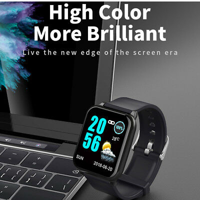 Z02 Bluetooth Smart Watch Heart Rate Calories Monitor Wristband For iOS Android