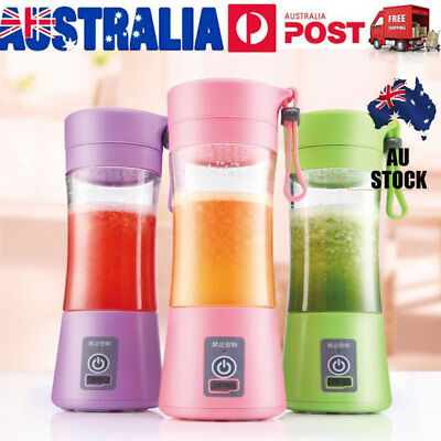 Portable USB Electric Fruit Juicer Maker Juice Shaker Blender Bottle Xmas Gift