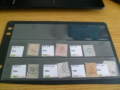 Luxembourg including SG 6,10,15,17,28 - priced to sell at £145 - Ref RW8