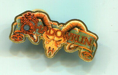 Shadowrun Logo Pin/Anstecker