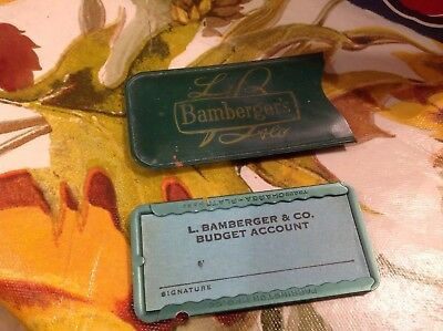 Antique Bambergers Department Store Credit Card