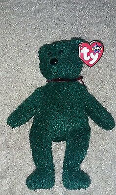 TY The Beanies Babies collection 2001 holiday teddy  LÄNGE ca 20 cm NEU
