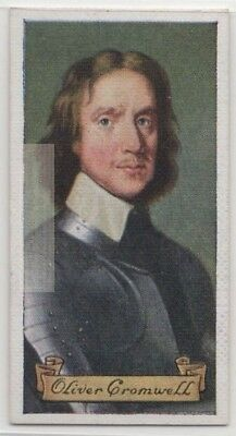 Oliver Cromwell  English Military Political Leader  80+ Y/O Trade Ad Card