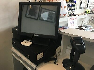 Epos Now Touch Screen System With Terminal, Cash Drawer, Barcode Reader &Printer