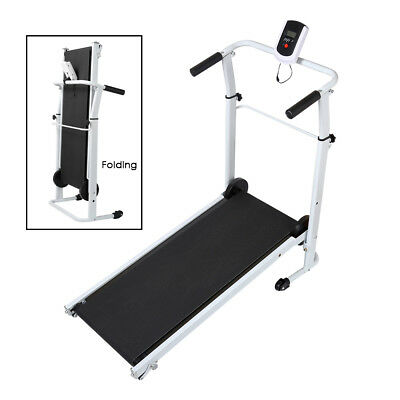 Lose Weight - Folding Treadmill Fitness Running Walking Jogging Machine Exercise
