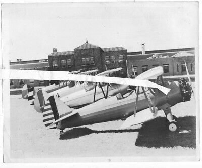 old photo Stearman Kaydet USAAC + Venuzuelan Army + Brazilian AF + Cuban AAC