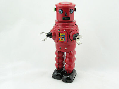 Blechspielzeug - Roby Robot rot    1600640