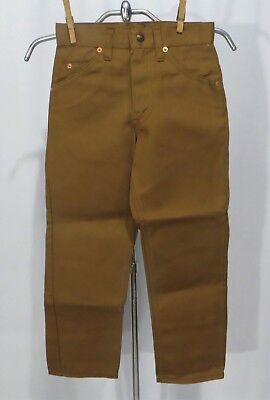 Vintage Kids Levi's Jeans Pants NWT sz 8 Brown